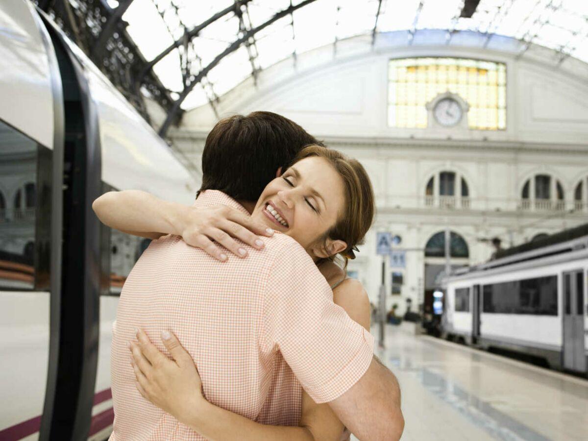 rencontre amoureuse dans le train