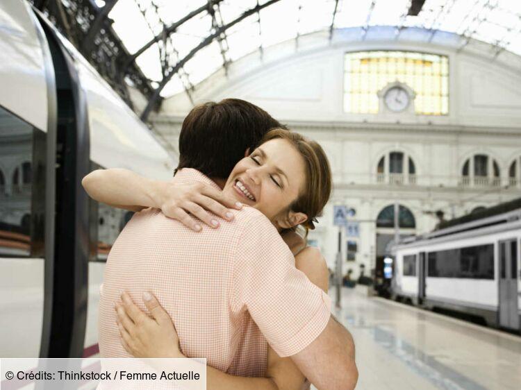 rencontre amoureuse dans le train)