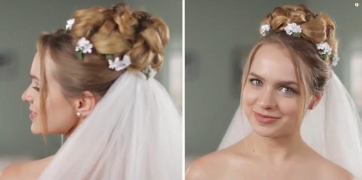 Petit historique des coiffures de mariée à travers les âges (vidéo)