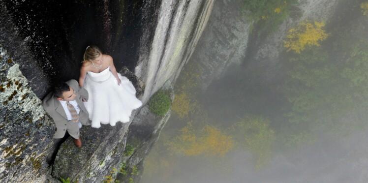 Insolite : des photos de mariage qui décoiffent !