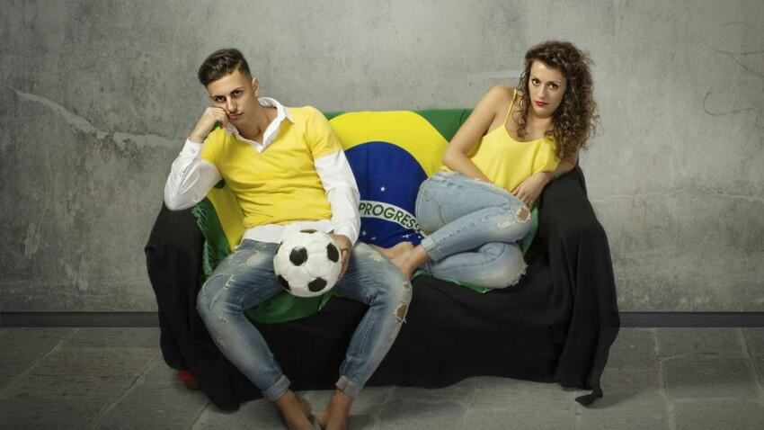 Le foot, ciment du couple ?