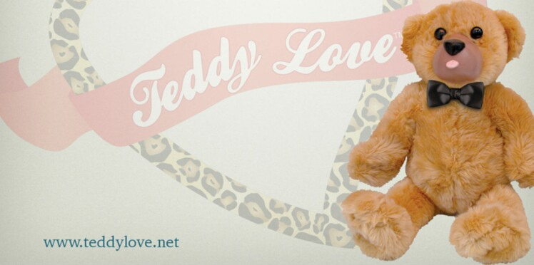 Teddy Love, l'ours en peluche version sex-toy