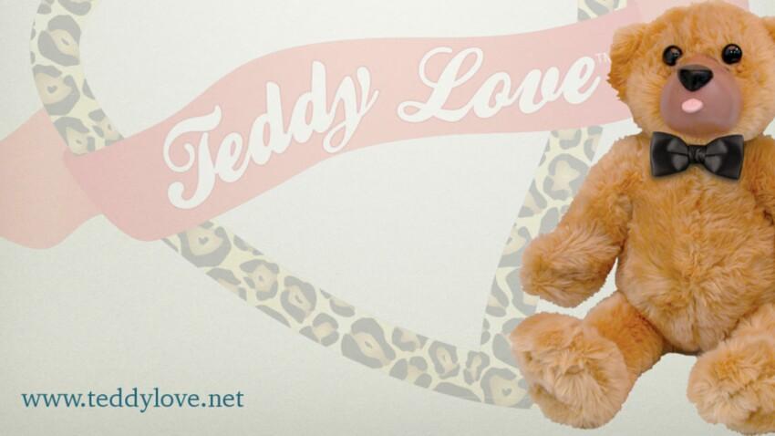 Teddy Love, l'ours en peluche version sex-toy