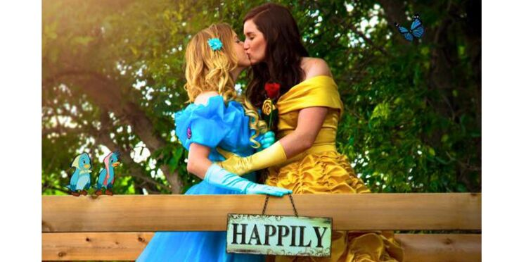 Photos : Et si les princesses étaient lesbiennes?