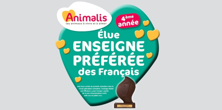 Publi-communiqués - Pourquoi Animalis est l'enseigne préférée des français depuis 4 ans ?