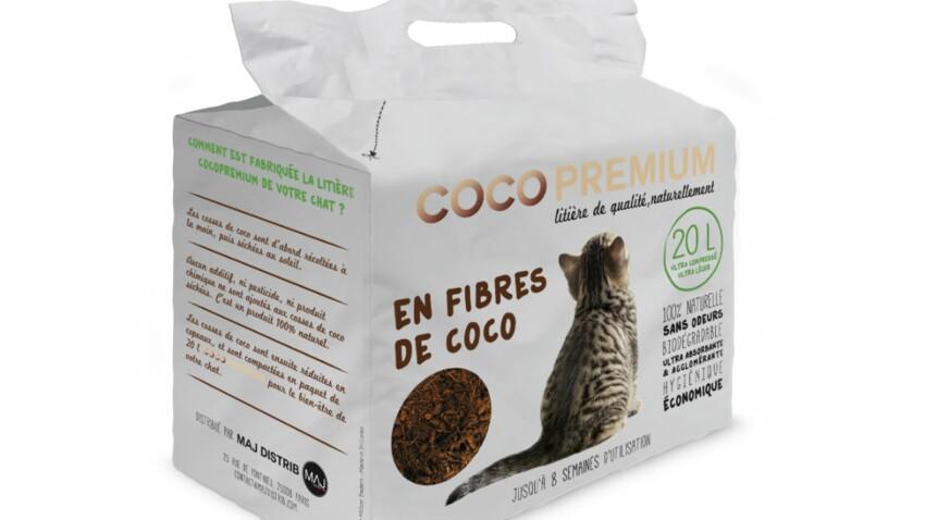 J'ai testé la litière en fibres de coco