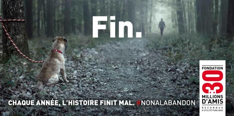 VIDEO - Nouvelle campagne choc contre l'abandon des animaux avec 30 Millions d'Amis