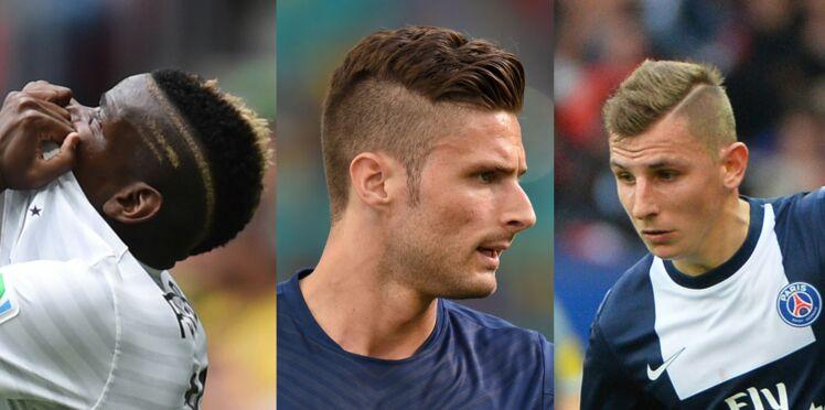 Zoom sur les coiffures des bleus !