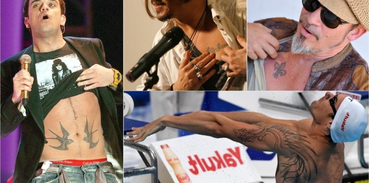 Homme : 15 tatouages de stars à copier (ou pas)