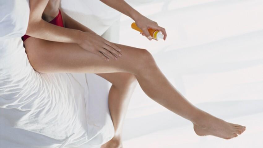 Autobronzant : les conseils pour l'appliquer sur les jambes