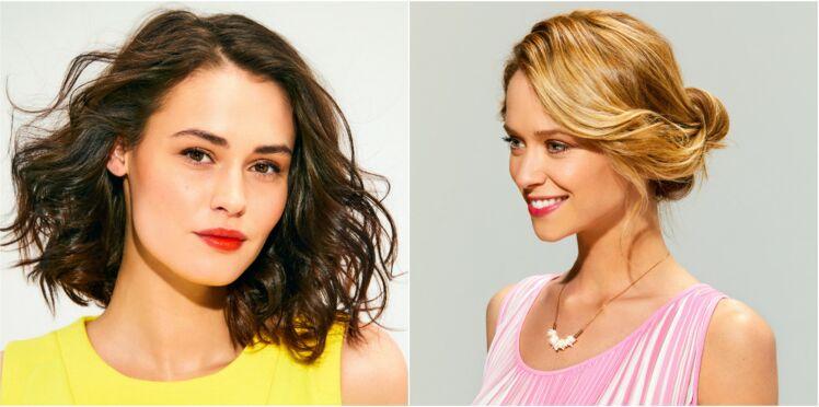 10 coiffures d'été faciles et rapides