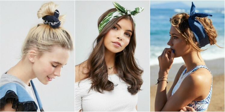 10 idées coiffures avec un bandeau pour l'été