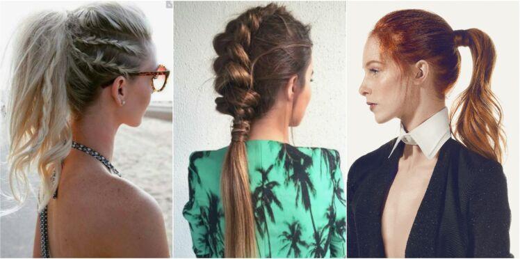 20 idées de queues-de-cheval originales repérées sur Pinterest