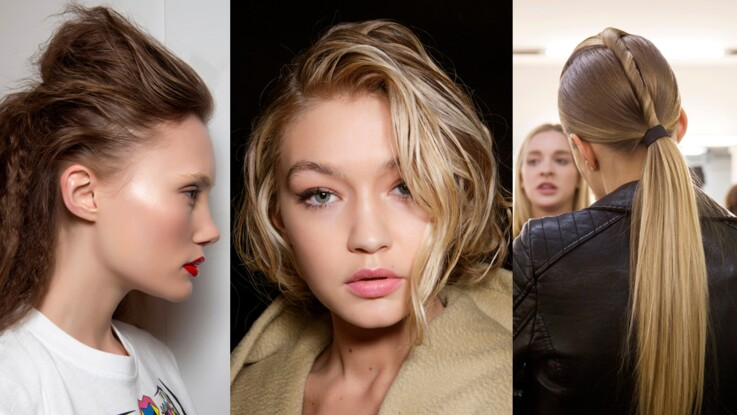 35 Idees De Coiffures Pour Cheveux Longs Femme Actuelle Le Mag