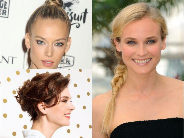 Cheveux Boucles 15 Coiffures Pour Les Sublimer Femme Actuelle Le Mag