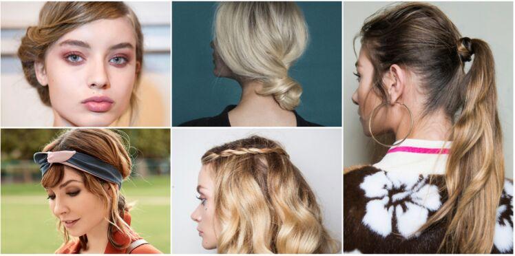 5 coiffures faciles à faire quand on a la flemme