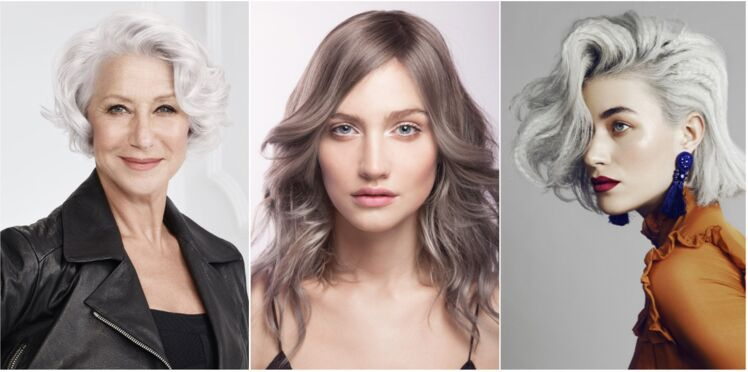 5 coiffures pour mettre en valeur ses cheveux blancs