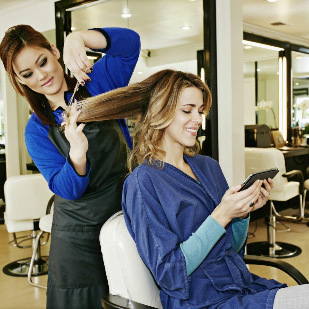 cherche coiffeur femme)