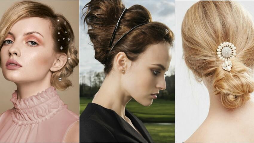 Coiffures de fêtes, nos accessoires cheveux préférés
