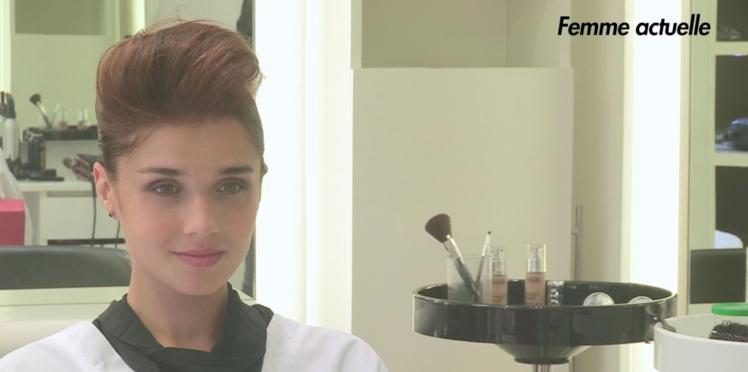 Tutoriel coiffure : une attache rock express (vidéo)