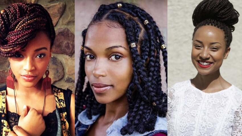 Cheveux crépus : les plus belles box braids de Pinterest