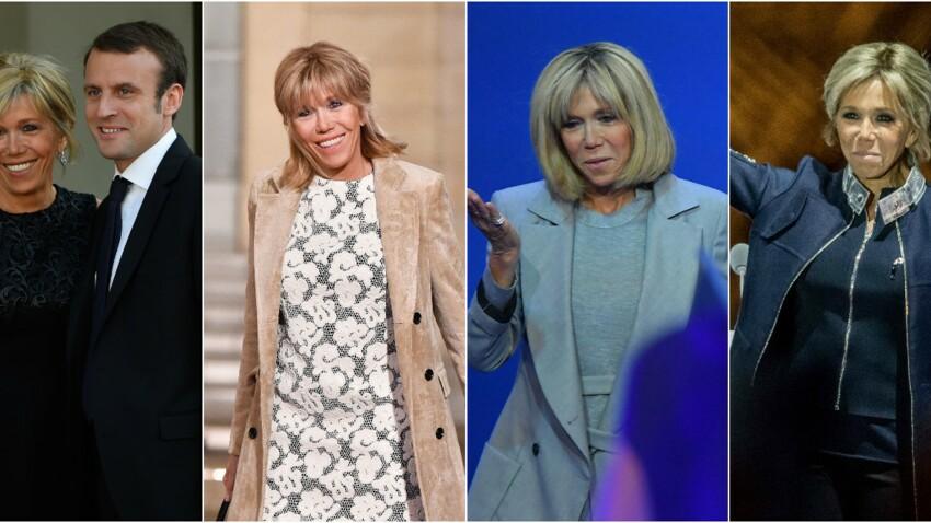 Brigitte Macron, son évolution coiffure en images