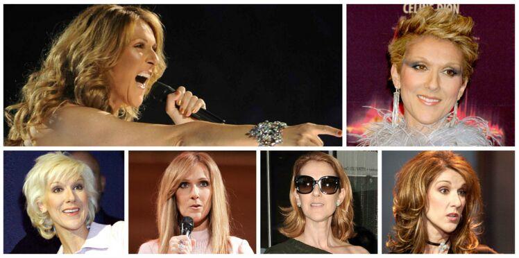 Vidéo - Céline Dion en 10 looks coiffure
