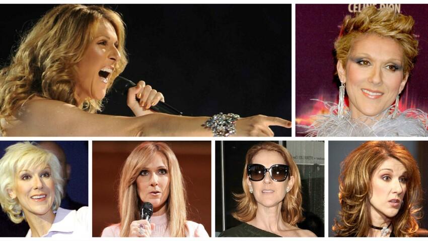 Video Celine Dion En 10 Looks Coiffure Femme Actuelle Le Mag