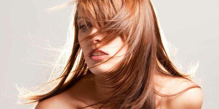 Cheveux cuivré foncé, une tonalité spécial brune