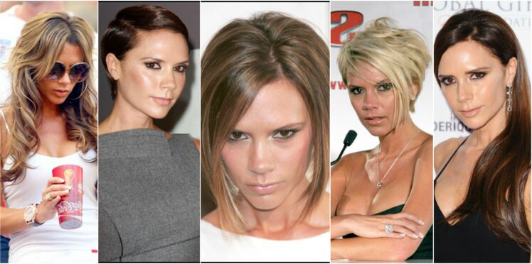 Victoria Beckham en 10 coupes et couleurs, de Spice girl à aujourd'hui