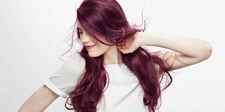 Cheveux violets : pour qui ?