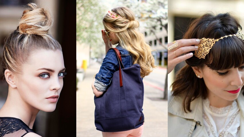 10 coiffures express de rentrée