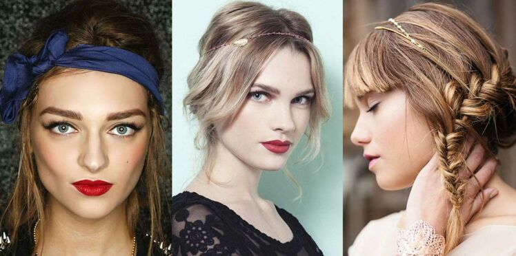 Les plus belles coiffures bohème chic de Pinterest