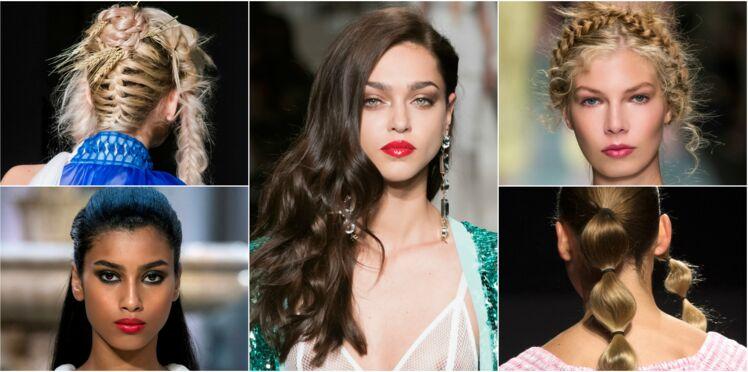 20 coiffures de défilés qui vont vous inspirer