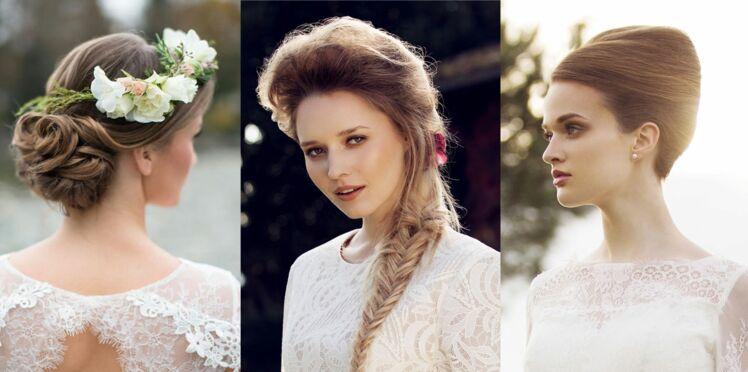 50 coiffures de mariée pour 2016