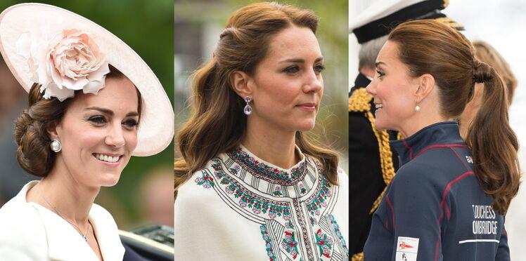 Kate Middleton : ses plus jolies coiffures décryptées