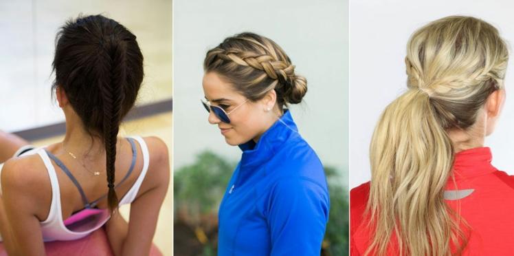 16 idées de coiffures pour faire du sport