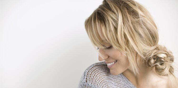 De jolis reflets blonds dans mes cheveux avec les soins à la camomille