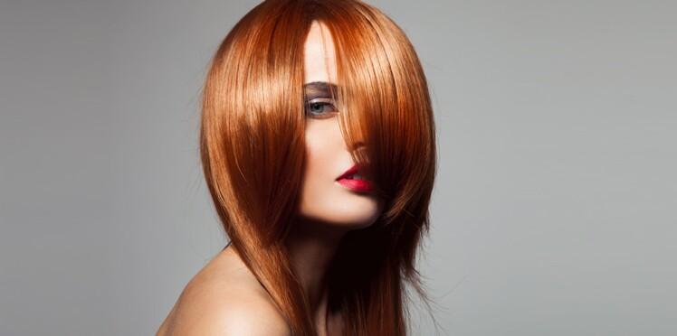 Types de coloration des cheveux en rouge