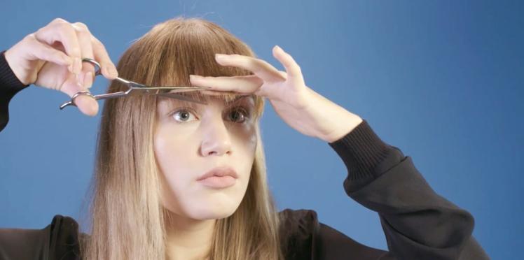 Tutoriel coiffure : comment couper sa frange ?