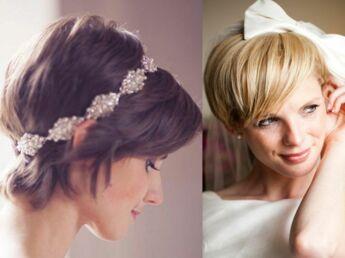 Mariage Quelle Coiffure Pour Mes Cheveux Courts Femme Actuelle
