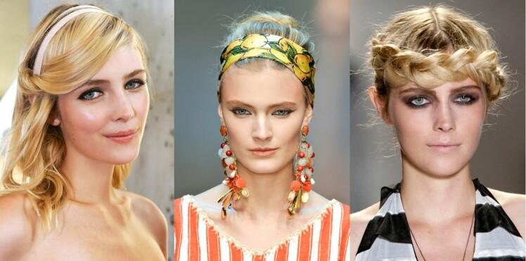 20 coiffures faciles inspirées des podiums