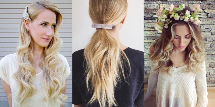 15 coiffures avec accessoire pour le printemps