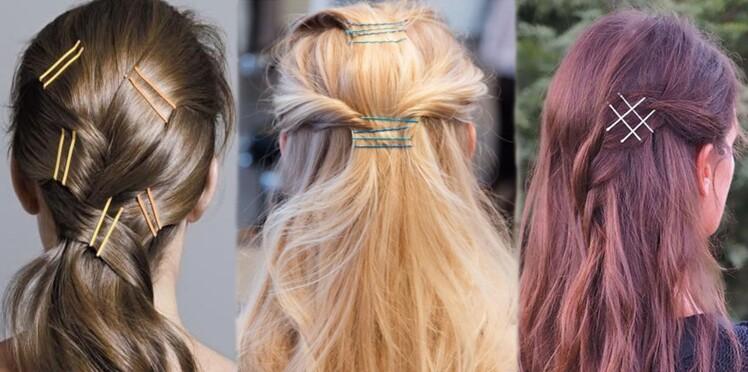 Bobby pins : 10 idées de coiffure express inspirées de Pinterest