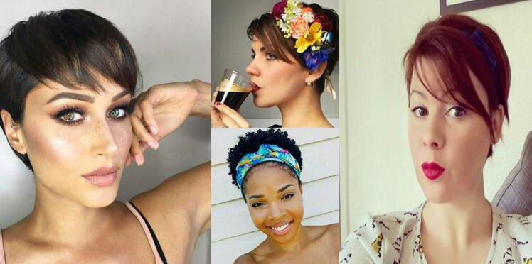 10 idées de coiffures d'été pour cheveux courts