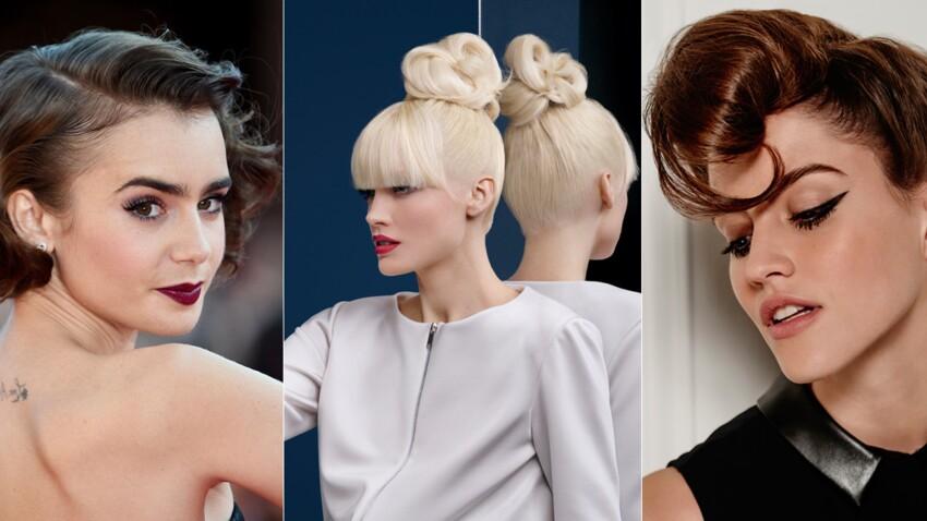 30 Coiffures De Fetes Faciles Et Glamour Femme Actuelle Le Mag