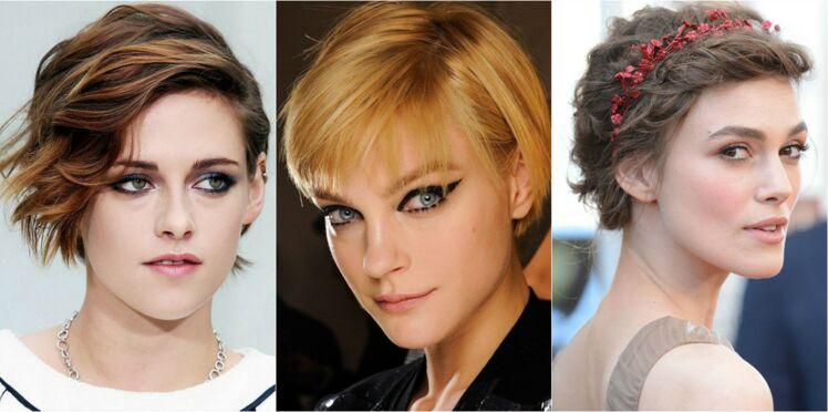 15 coiffures stylées pour cheveux courts