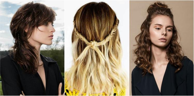 15 idées coiffure sur cheveux détachés