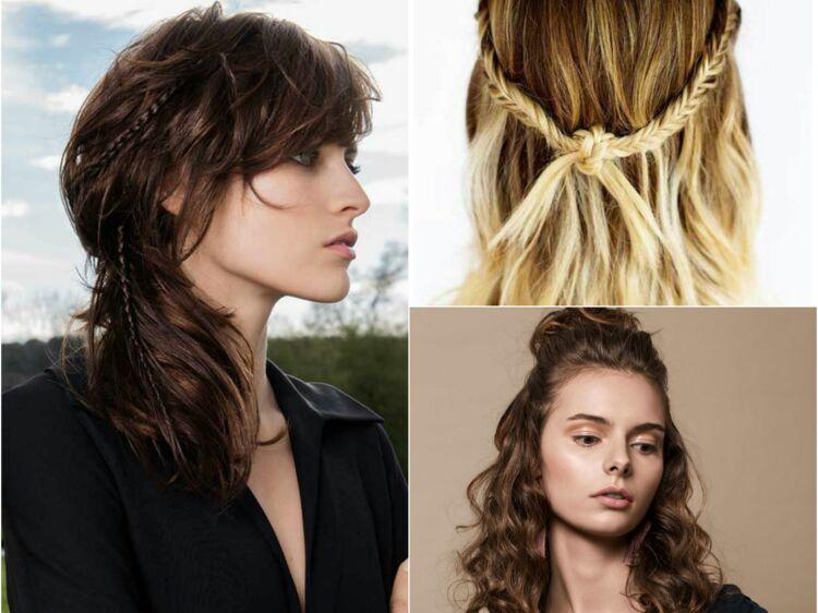 15 Idees Coiffure Sur Cheveux Detaches Femme Actuelle Le Mag