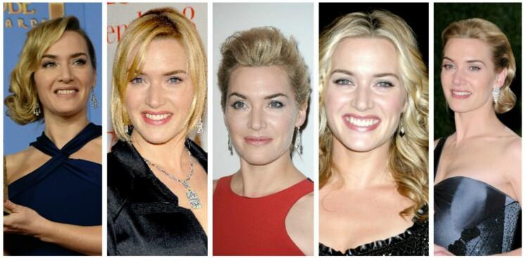 Kate Winslet : ses plus belles coiffures sur le tapis rouge